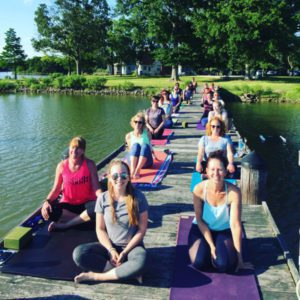 bayside yoga retreat
